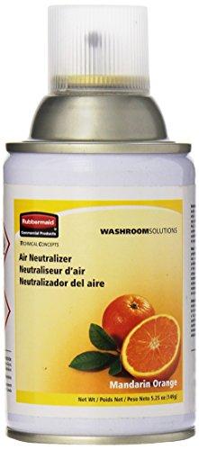 Rubbermaid Commercial Microburst Standard Aerosol Refill, Mandarin Orange, ()