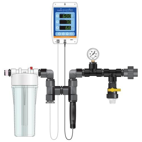 Dosatron 709012 Nutrient Delivery System EC (PPM)/pH/Temp Guardian Connect Monitor Kit by Dosatron