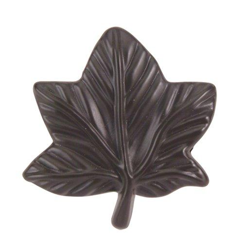 Atlas Homewares 2203-O 1-3/4-Inch Leaf Knob, Aged Bronze