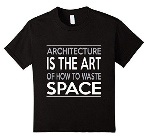 Kids Architecture Shirt for Guys. Work Anniversary Gifts for Men 12 Black