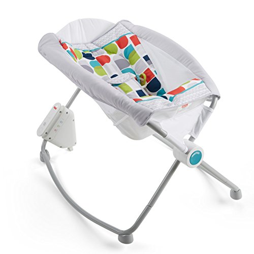 Fisher-Price Auto Rock 'n Play Sleeper, Color Climbers [Amazon Exclusive] - Exclusive Rock
