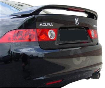 Amazon 04 08 acura tsx 4dr factory style spoiler w led 04 08 acura tsx 4dr factory style spoiler w led painted or primed sciox Image collections