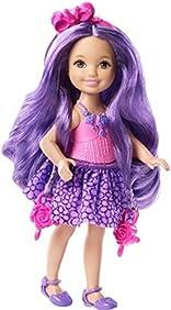 Barbie Endless Hair Kingdom Chelsea Doll, Purple