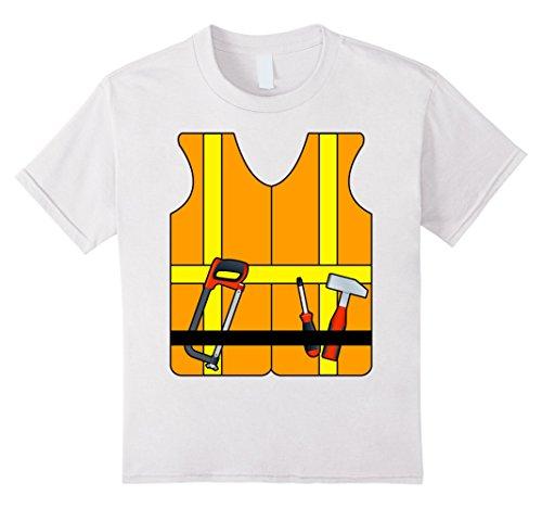 Kids Construction Worker Halloween Costume T-Shirt 4 (Women Construction Worker Costume)