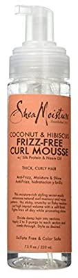 Coconut & Hibiscus Frizz-Free Curl Mousse by Shea Moisture