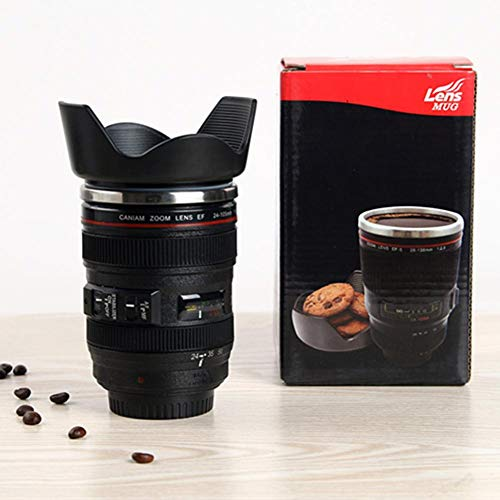 - Laideyilan SLR Camera Lens Shape Cup Stainless Steel 24-105mm Lens Cup Warter Cup Can Be Printed Advertising