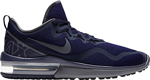 AIR homme nbsp;– Sportives Nike nbsp; Blue Obsidian grey nbsp;Chaussures Dark nbsp;– deep bleu Fury Royal MAX dqwBa