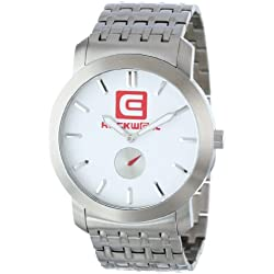 Rockwell The Cartel Men's Quality Watches - Silver/White / One Size, CT101