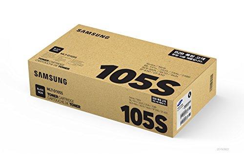 Xaa Black Laser Toner - Samsung MLT-D105S - Premium Laser Toner Cartridge - 1 x black