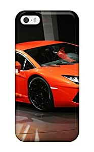 Durable Defender Case For Iphone 5/5s Tpu Cover(lamborghini Aventador)