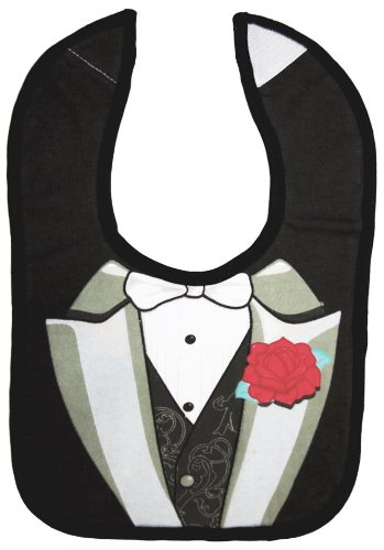 f285d26e1 Amazon.com: Embelle Bib - Cotton - Tuxedo - Boy: Baby