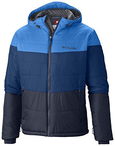 Columbia Men's Shimmer Flash Full Zip Hooded Winter Jacke...