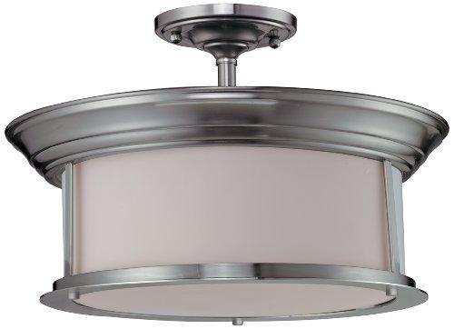 Z-Lite 2002SF-BN Sonna Three Light Semi-Flush