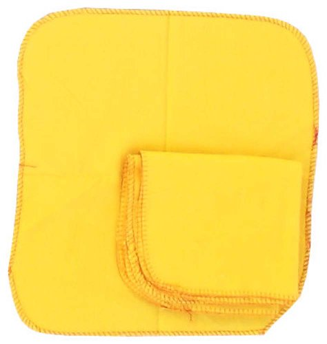 6-Pc-12x12-Yellow-Dustwiping-Cloth-Set