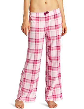 Intimo Women's Micro Fleece Pant, Pink, Large