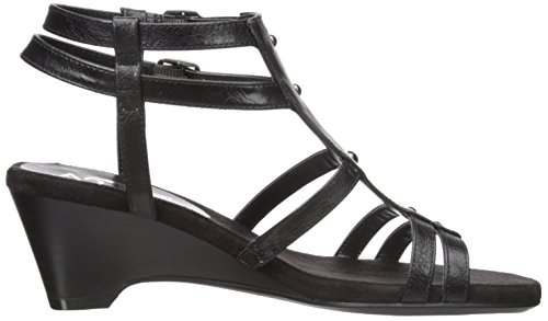 A2 Sandal Mayor Women Wedge Aerosoles Black by gqUrxgZ