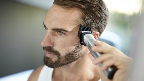 Philips Norelco Multi Groomer MG7750/49-23 piece, beard, body, face, nose, and ear hair trimmer, shaver, and clipper by Philips Norelco (Image #8)