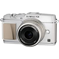 OLYMPUS Micro Four Thirds PEN E-P5 White E-P5 17mm F1.8 LKIT - International Version (No Warranty)