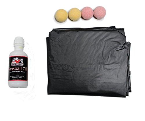 Game Room Guys Foosball Kit for Tornado or Shelti - Balls, Cover and Oil
