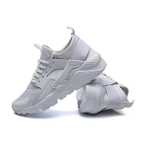 Sneakers up Breathable White Jogging Shoes Casual Trainers Lace Running Unisex fereshte Sport FwC1q71