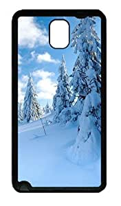 Galaxy Note 3 Case, Note 3 Cases - Snow Soft Rubber Bumper Case for Samsung Galaxy Note 3 N9000 TPU Black