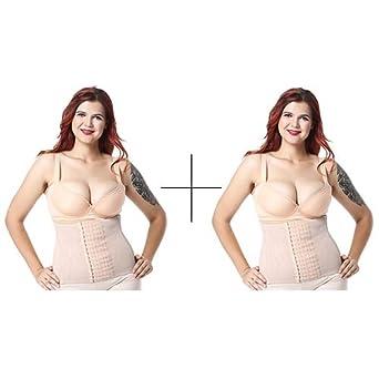 a4f208bfe1b HITSAN INCORPORATION Modeling Strap 2 Pieces Waist Trainer Slimming Belt  Tummy Shaper Shapewear Corsets Girdle Belt