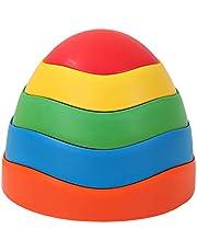 szlsl88 Balansbalk voor kinderen,5 stks Indoor Stepping Stones,Balance Stones voor peuters,Home Balance Training Toy