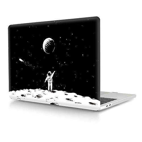 HRH Space Astronaut Design Laptop Body Shell Protective Hard Case for MacBook Newest Air 13