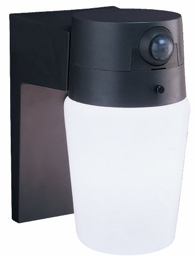 Heath/Zenith SL-5610-BZ-B Entryway Motion-Sensing Security Light, Bronze ()