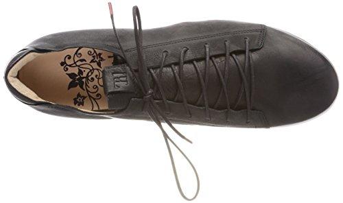 Cordones Brogue Zapatos Sz 09 Negro 282050 Mujer Think Kombi de Anni para gxqHU1p
