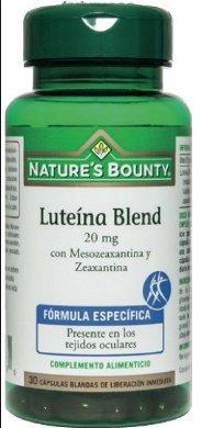Natures Bounty Luteína Blend 20 Mg con Mesozeaxantina y Zeaxantina - 30 Cápsulas