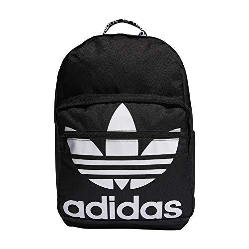 adidas Originals Originals Trefoil Pocket Backpack, Black/White, One Size