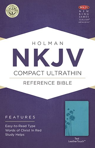 Download NKJV Compact Ultrathin Bible, Teal LeatherTouch pdf epub