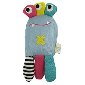 Happy Puppy Plush Pet Toy - Dizzy Monster Squeaky Toy