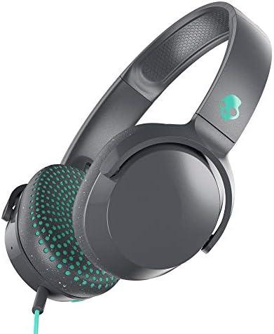Skullcandy Riff On-Ear Headphones Gray/Miami (S5PXW-L672)