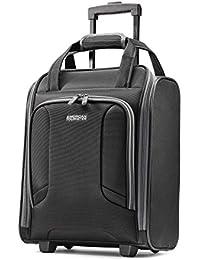 4 Kix Expandable Softside Luggage with Spinner Wheels, Black/Grey