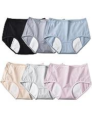 6 Stuks Menstruatie Slips Slipje Vrouwen Grote Meisjes Tiener Lekvrije Ondergoed
