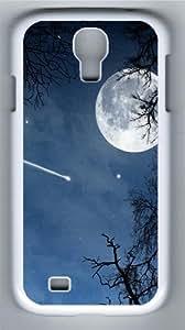 Moonlight Custom Samsung Galaxy I9500/Samsung Galaxy S4 Case Cover Polycarbonate White