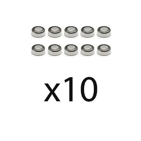 Pila de Boton x10 LR726 Alkalina Litio 1.5V caculadoras relojes..: Amazon.es: Electrónica