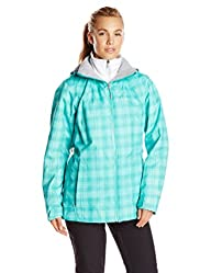 Whirlibird  Interchange Jacket,Womens,Oceanic Plaid,2X