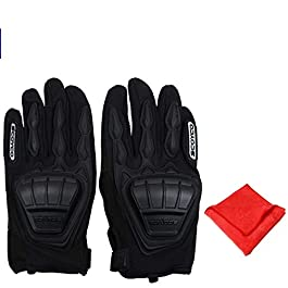 AllExtreme EXMC08XL Bike Racing Full Finger Gloves Unisex Biking Camping Sports Shock Absorption Hand Gloves with…