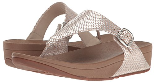 Silver Leather Femmes Pour Tm Talons Sandales Fitflop The Snake Skinny qn6SP88U