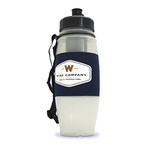 Wise Company, Seychelle Water Filter Bottle with Flip Top, BPA-Free, 28oz