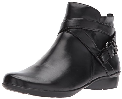 Naturalizer Women's Cassandra Ankle Bootie, Black, 8 M US by Naturalizer