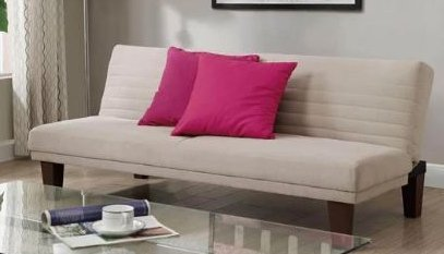 Amazon.com: Sofa Bed Couches Sleeper Sofas-Tan Microfiber ...