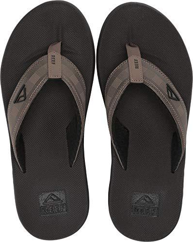(Reef - Mens Phantom Prints Sandals, Size: 9 D(M) US, Color: Tan Plaid)
