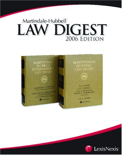 Martindale-Hubbell Law Digest: Alaska [Paperback] [2006] (Author) Monagle & Eastaugh, A Professional Corporation, of Alaska. Revision by Robertson