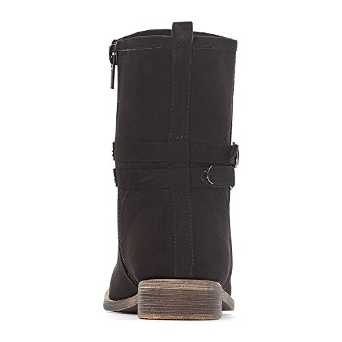 La Redoute Collections Boots mit Schnalle, Gr. 2835 Schwarz