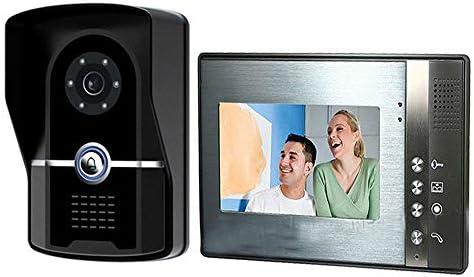 ビデオドアベルインターホンシステム、7インチアクセスコントロールシステム、1台のカメラを備えたドアベル1ディスプレイTFT LCDスクリーン、ビデオドアベルは、赤外線ナイトビジョン防雨型ホームセキュリティのロックを解除できます
