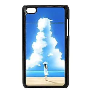Beautiful Summer Day Illustration iPod Touch 4 Case Black NiceGift pjz0035050443